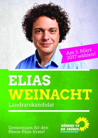 Landratskandidat Elias Weinacht