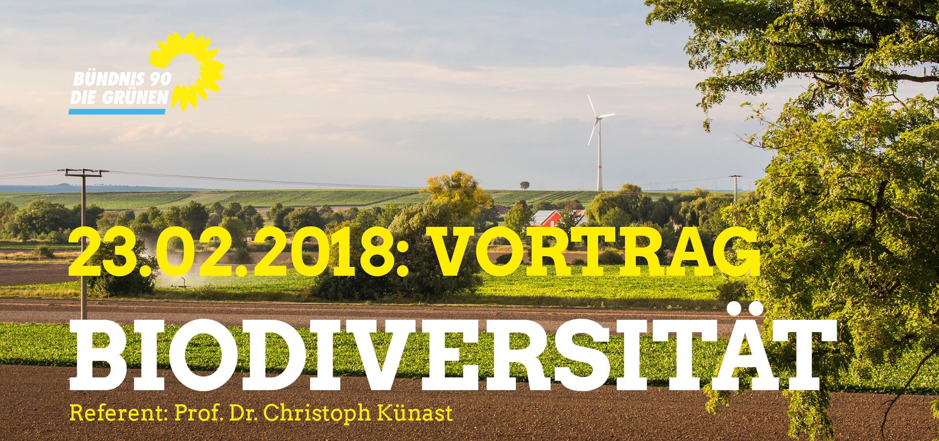 Veranstaltung am 23. Februar: Biodiversität